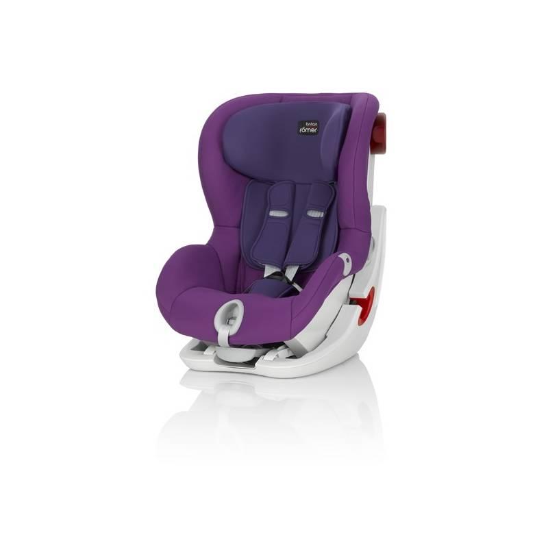 Autosedačka Britax/Römer KING II 2016, Mineral Purple 9-18 kg fialová