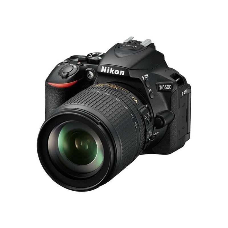 Digitálny fotoaparát Nikon D5600 + AF-S 18-105 VR čierny + Cashback 100 € + Doprava zadarmo