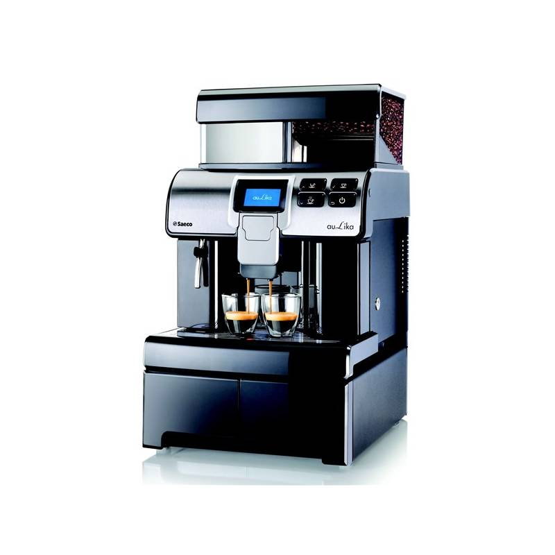 Espresso Saeco Aulika Office Black čierne + Doprava zadarmo