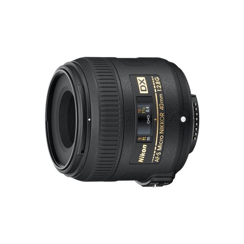 Objektív Nikon NIKKOR 40mm f/2.8G ED AF-S DX MICRO čierny