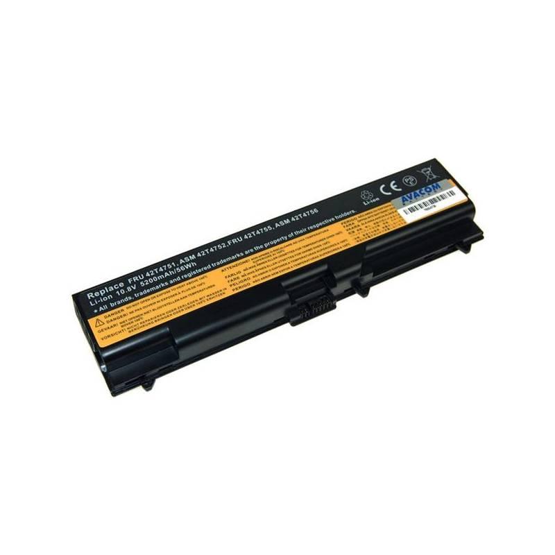 Batéria Avacom pro Lenovo ThinkPad T410/SL510/Edge 14'/Edge 15' Li-Ion 11,1V 7800mAh (NOLE-SL41H-806)