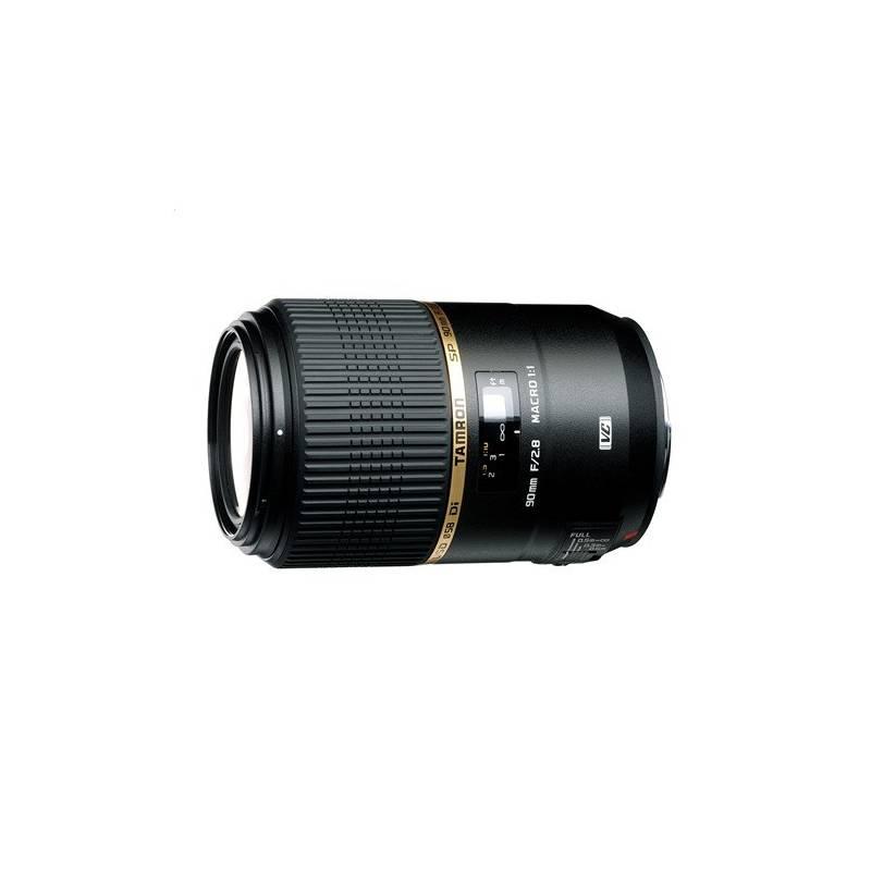 Objektív Tamron SP 90mm F/2.8 DI MACRO 1:1 VC USD pro Canon čierny + Doprava zadarmo