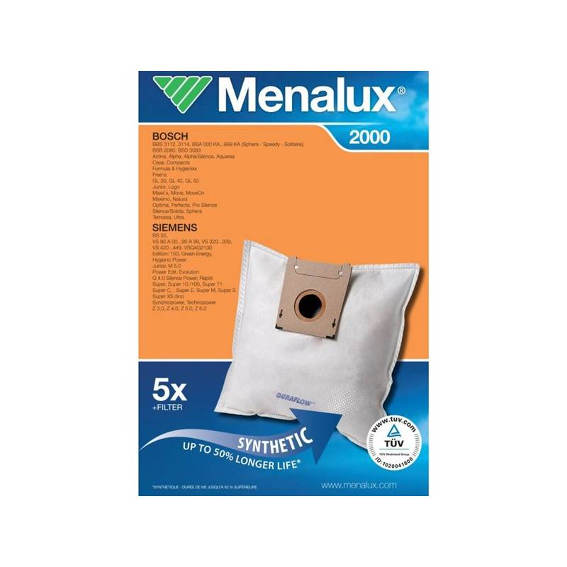 Sáčky pre vysávače Menalux DCT39