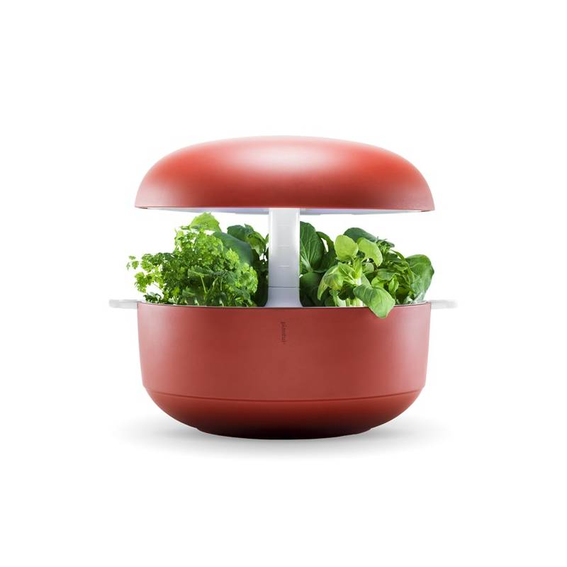 Systém Plantui 6 Smart Garden červená + Doprava zadarmo