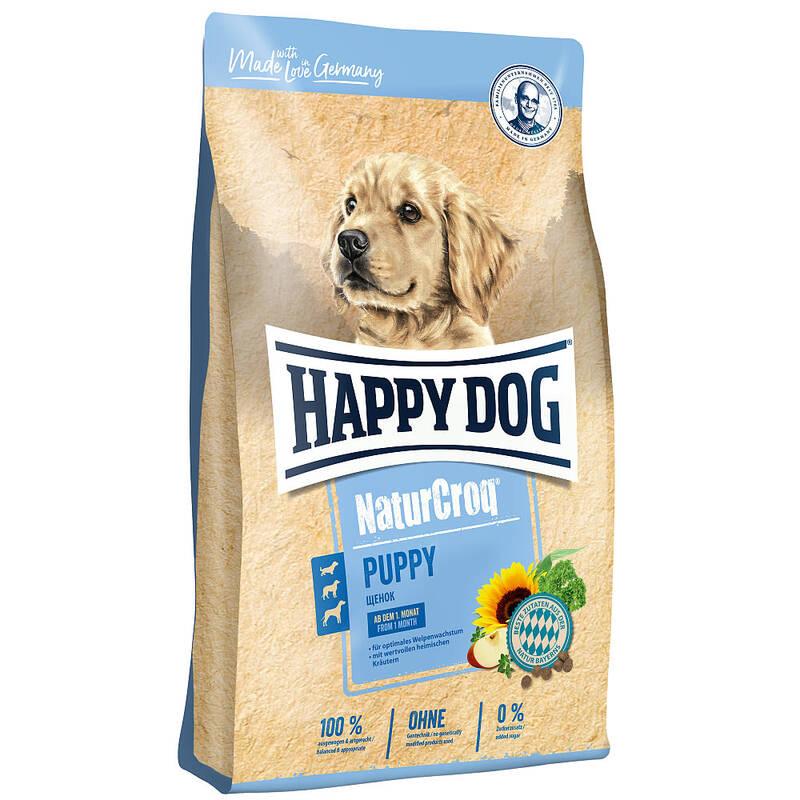 Granuly HAPPY DOG Natur-Croq Welpen 15 kg HAPPY DOG pamlskovník (zdarma) + Doprava zadarmo
