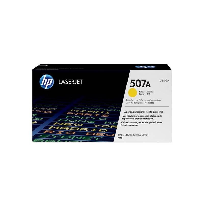 Toner HP 507A, 6000 stran (CE402A) žltý + Doprava zadarmo