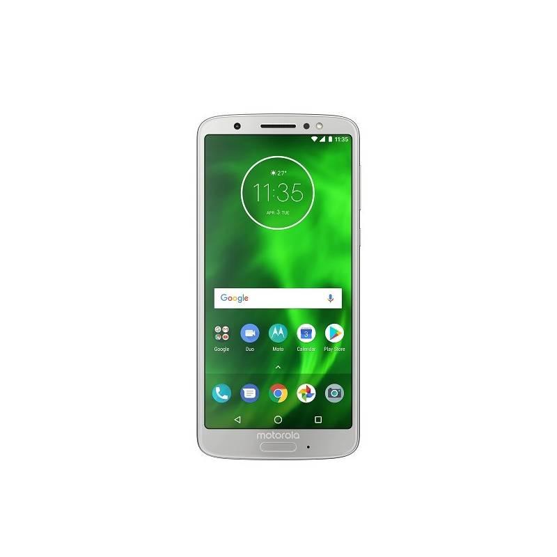 Mobilný telefón Motorola G6 (PAAL0001RO) strieborný Software F-Secure SAFE, 3 zařízení / 6 měsíců (zdarma) + Doprava zadarmo