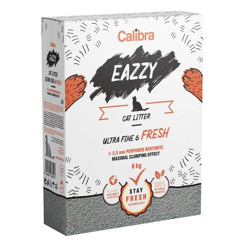 Podstielka Calibra EAZZY Cat Ultra Fine & Fresh 6 kg