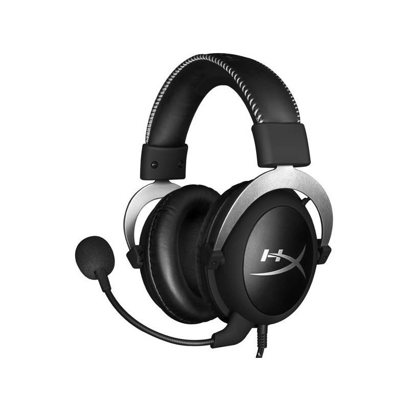 Headset HyperX Cloud (HX-HSCL-SR/NA) strieborný