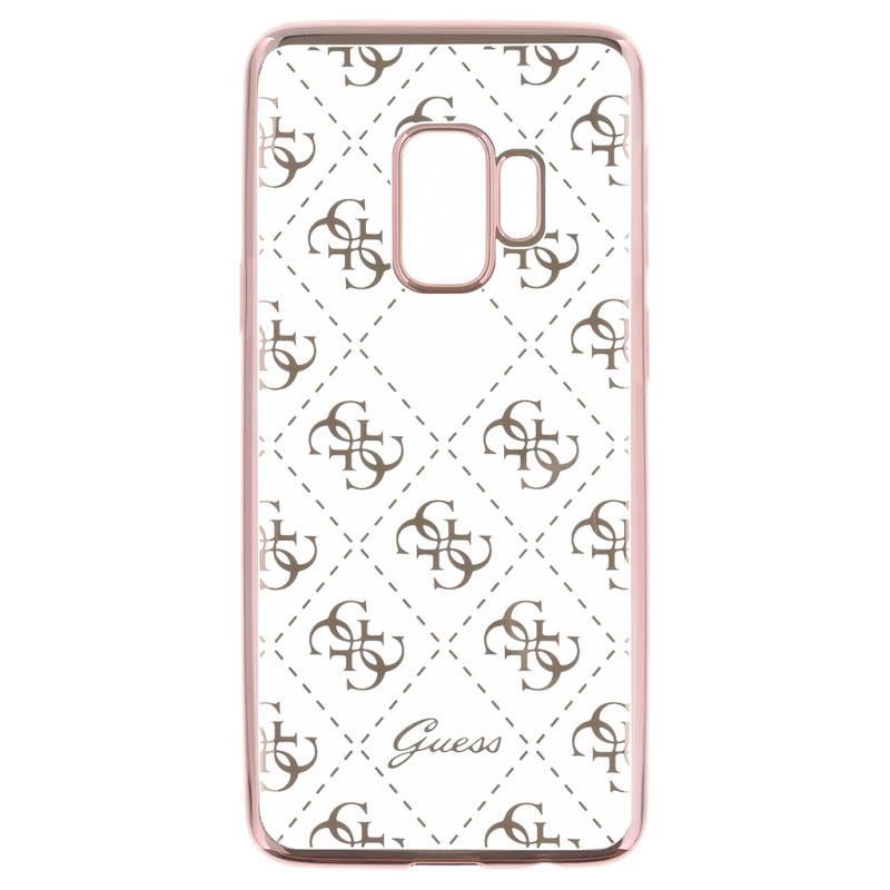 dfd5d827c8b6 Kryt na mobil Guess 4G Case Rose pro Samsung Galaxy S9 (GUHCS9TR4GRG)  ružový