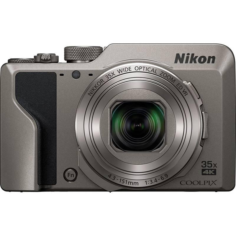 Digitální fotoaparát Nikon Coolpix A1000 stříbrný