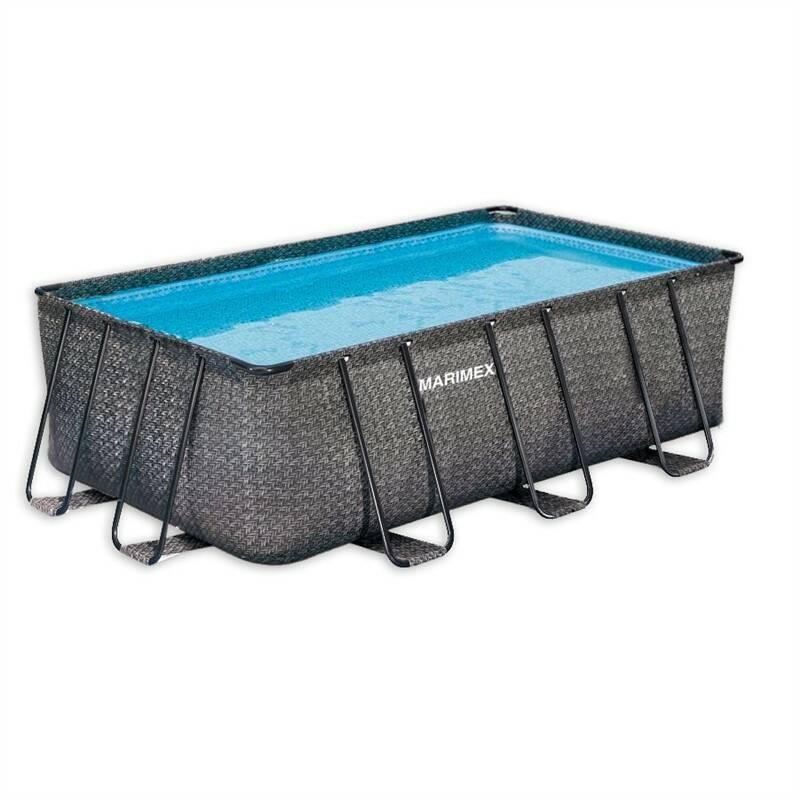 Bazén Marimex Florida Premium Ratan 2,15x4,00x1,22 m + Nafukovacie lehátko Intex lízátko (158753EU) v hodnote 11.60 € + Doprava zadarmo