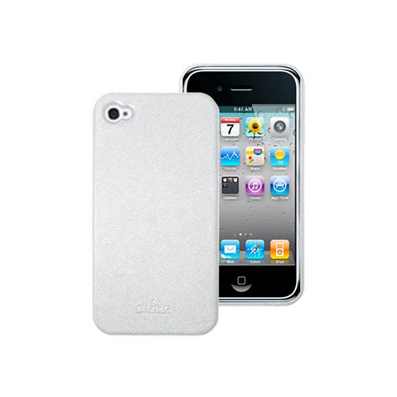 Kryt na mobil Puro ECO-LEATHER pro Apple iPhone 4 (IPC4WHI) biely ... 906dd75c0f9