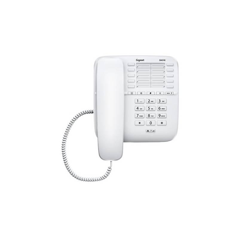 Domáci telefón Siemens Gigaset DA510 (S30054-S6530-R602) biely