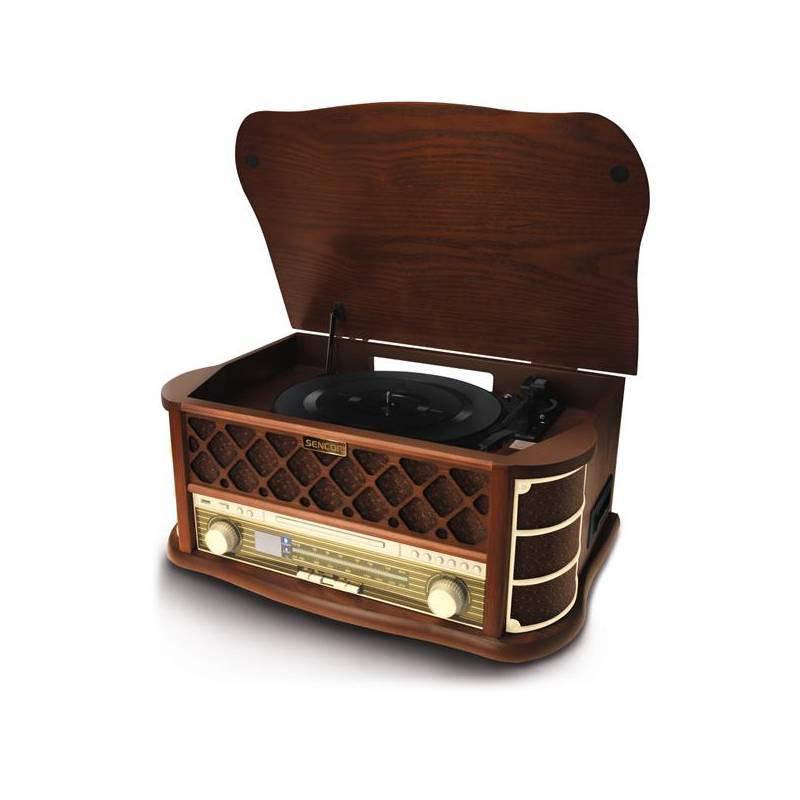 Gramofón Sencor STT 016 s USB/SD (35037004)