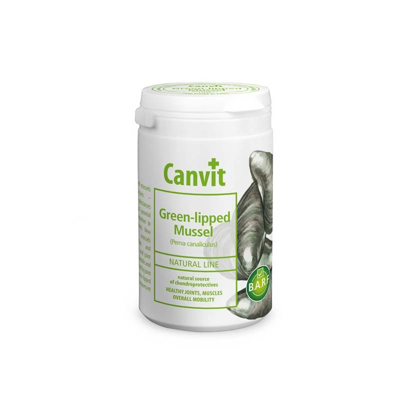 Prášok Canvit Natural Line Green-lipped Mussel plv 180g