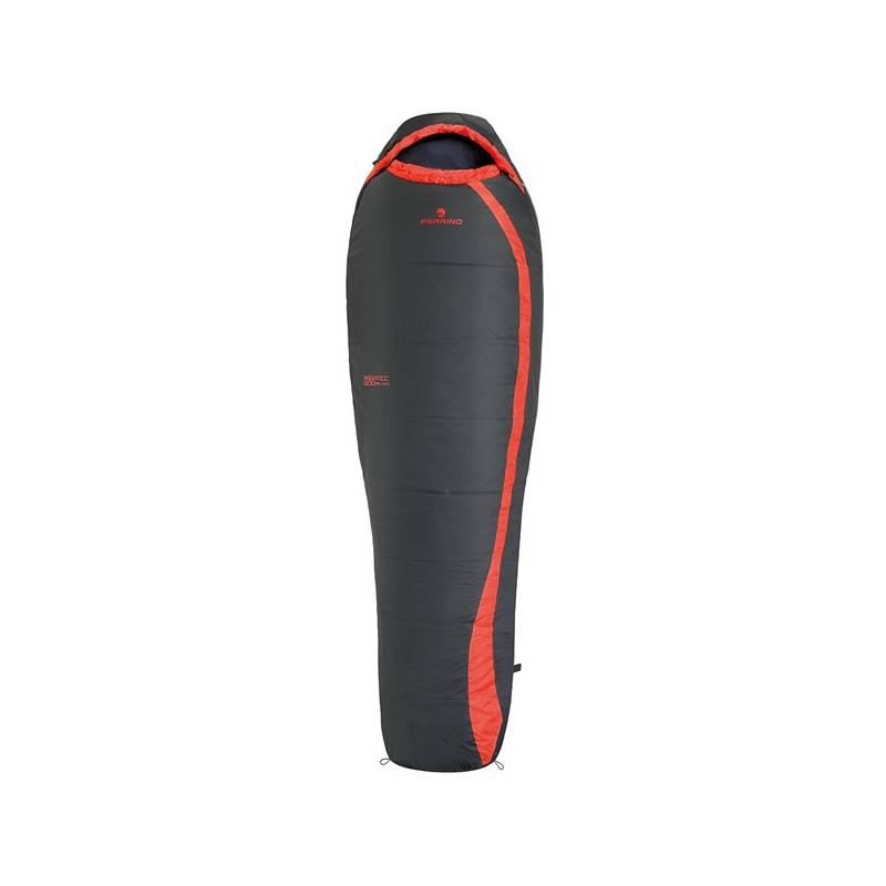 Spací vak Ferrino syntetika NIGHTEC 600 LITE PRO NEW - levý čierny/červený + Doprava zadarmo