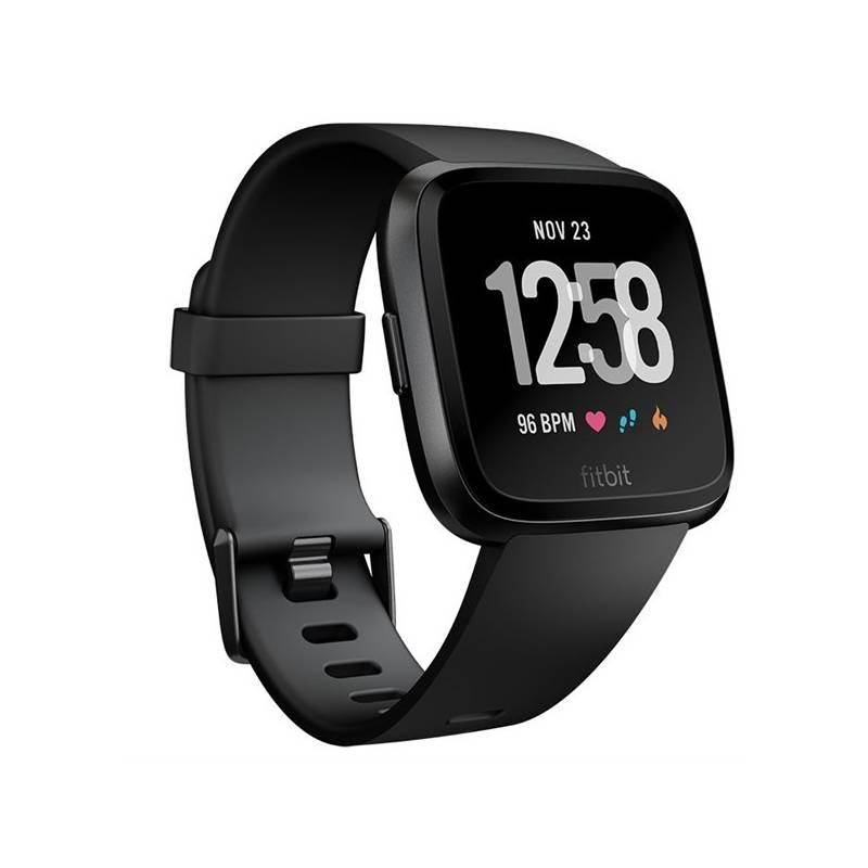 Chytré hodinky Fitbit Versa (NFC) - Black / Black Aluminum (FB505GMBK-EU)