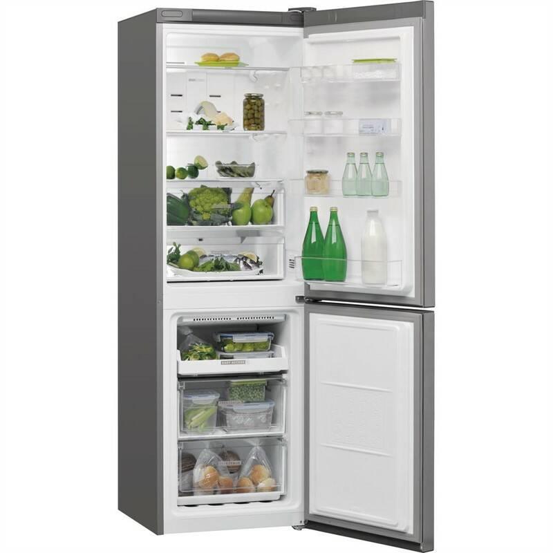 Kombinácia chladničky s mrazničkou Whirlpool W7 821O OX nerez + Extra zľava 10 % | kód 10HOR2020 + Doprava zadarmo