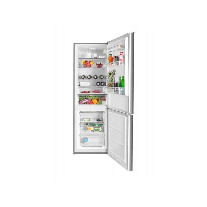 Kombinácia chladničky s mrazničkou ETA 236490010 nerez + Doprava zadarmo