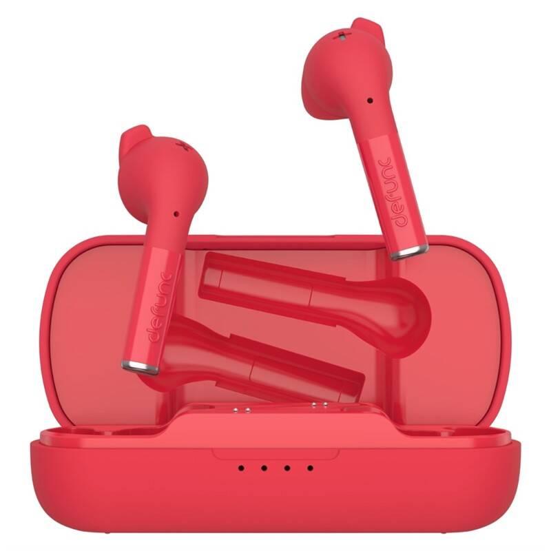 Slúchadlá Defunc True Plus (D4223) červená + Doprava zadarmo