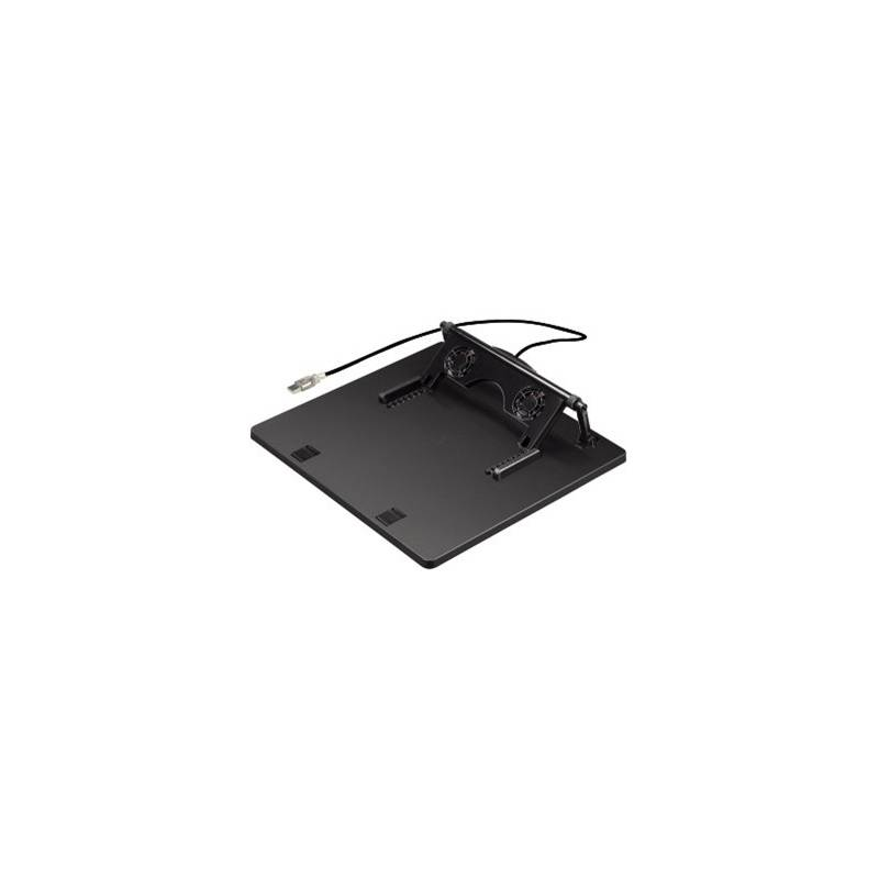 Chladiaca podložka pre notebooky Hama 1x větrák, USB (164243) čierna