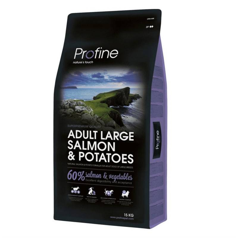 Granule PROFINE Adult Large Breed Salmon & Potatoes 15kg