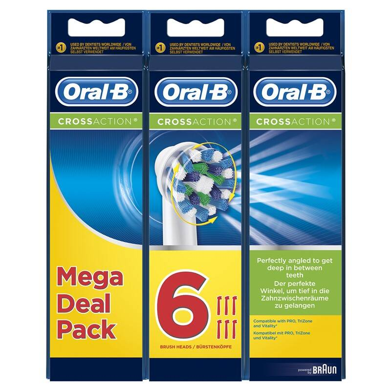 Náhradná kefka Oral-B EB 50-6