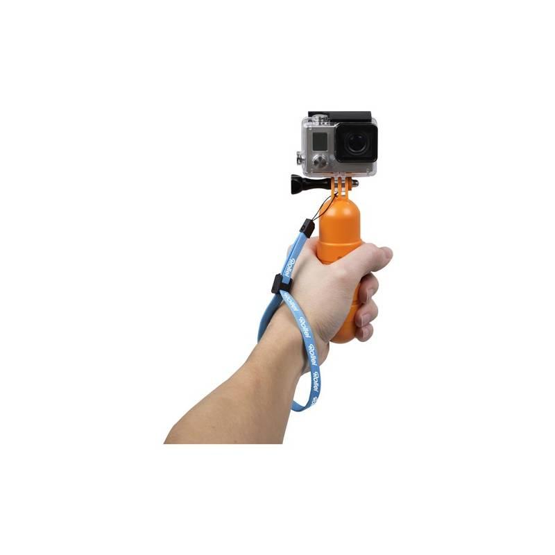 Držiak Rollei pro kamery GoPro a Rollei (21565) oranžový