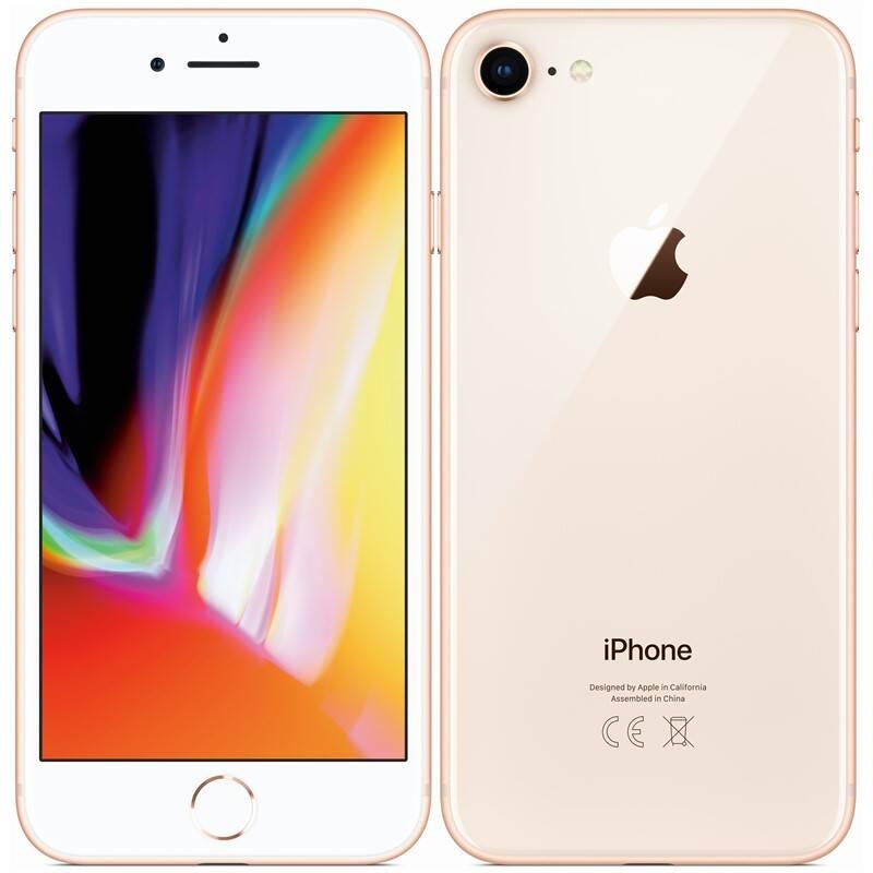 Mobilný telefón Apple iPhone 8 64 GB - Gold (MQ6J2CN/A) + Extra zľava 3 % | kód 3HOR2020