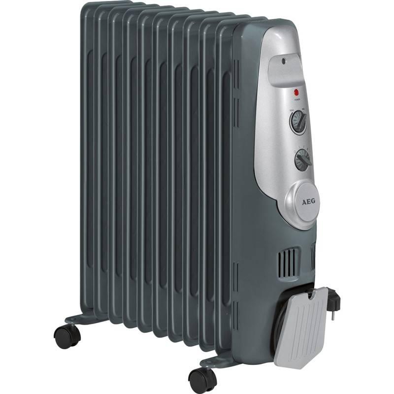 Olejový radiátor AEG RA 5522 sivý
