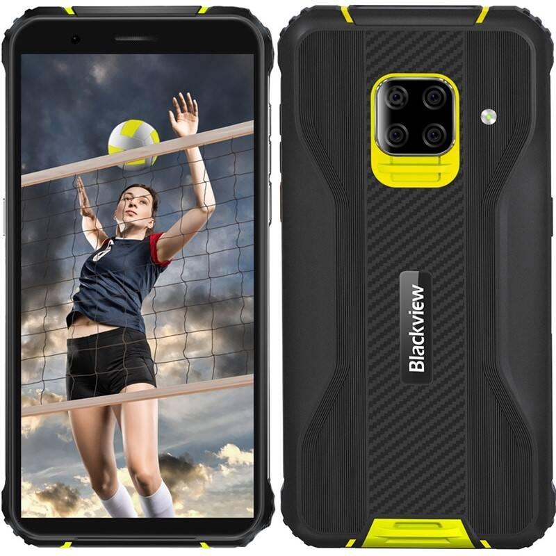 Mobilný telefón iGET Blackview GBV5100 (84002460) žltý