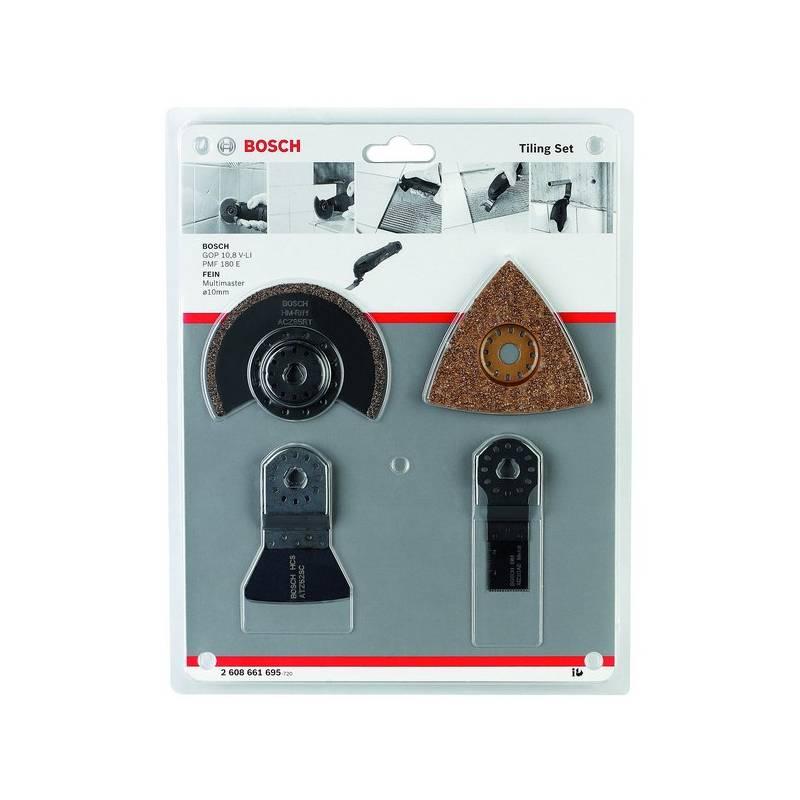 Sada príslušenstva Bosch 4dílná pro oscilační brusky 2.608.661.695