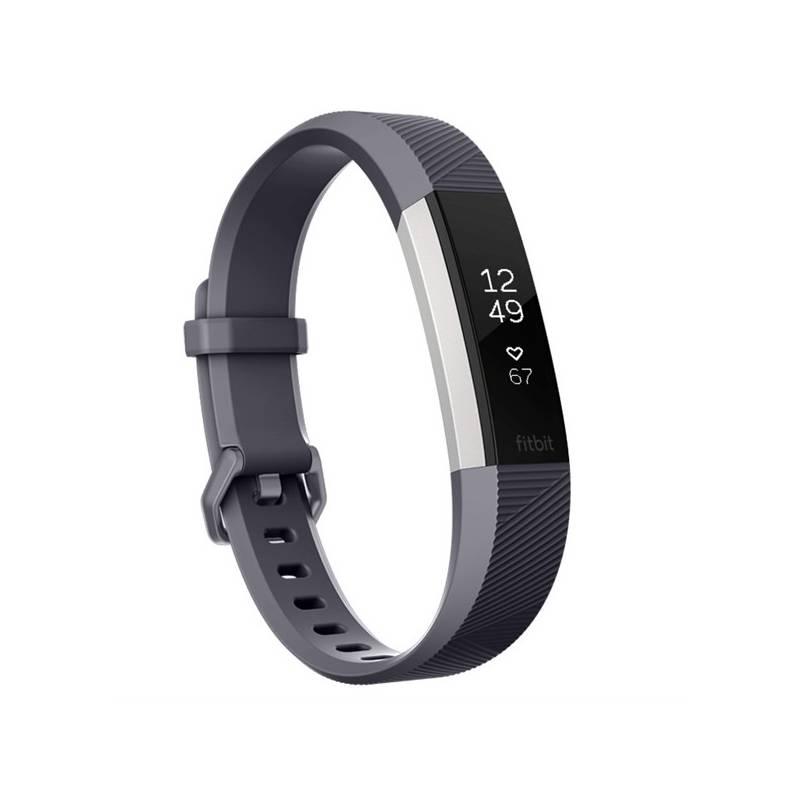 Fitness náramok Fitbit Alta HR small - Blue Gray (FB408SGYS-EU)