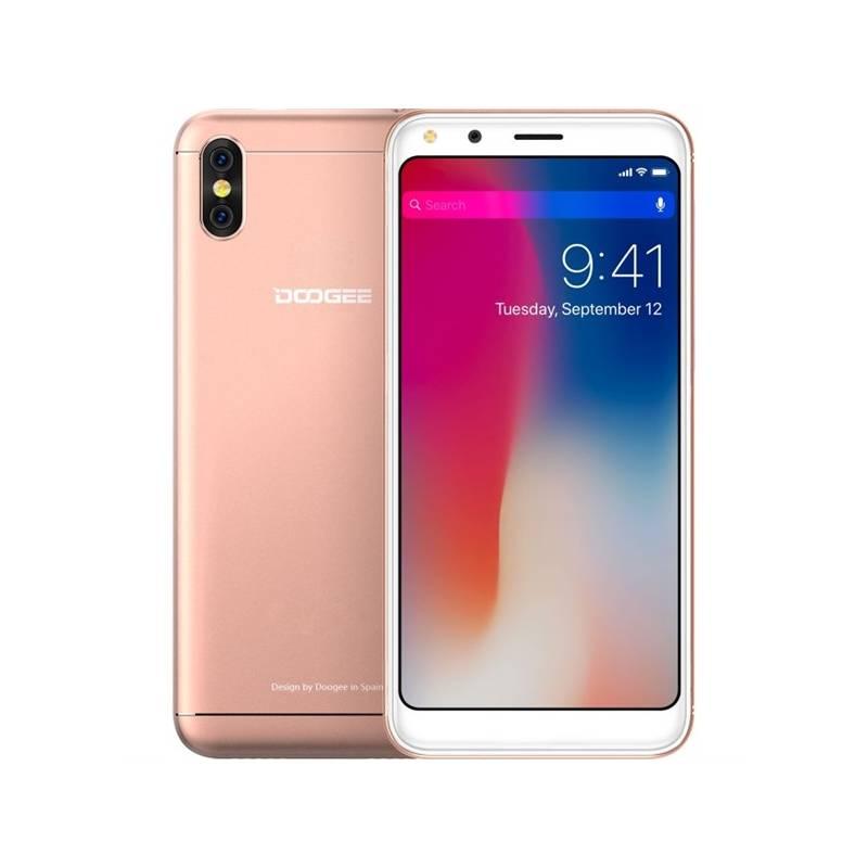 Mobilný telefón Doogee X53 Dual SIM 16 GB (6924351653422) zlatý