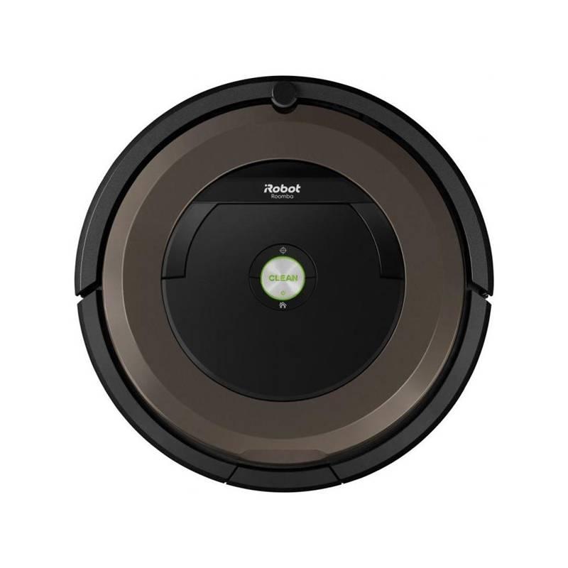 Vysávač robotický iRobot Roomba 896 čierny/sivý + Doprava zadarmo
