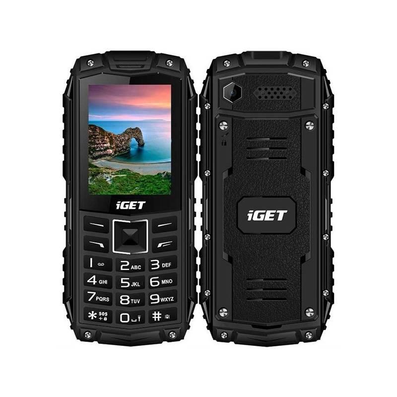 Mobilný telefón iGET Defender 10 Dual SIM (84000426) čierny