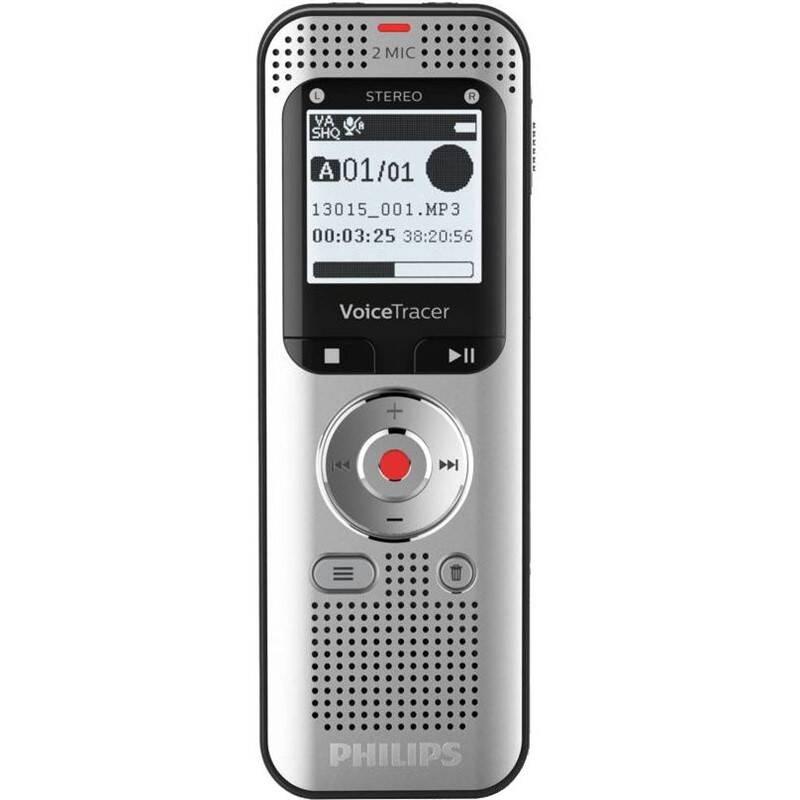 Diktafon Philips DVT2050 stříbrný