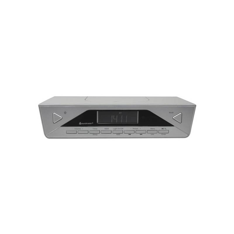 Rádioprijímač s DAB Soundmaster UR2040SI strieborný