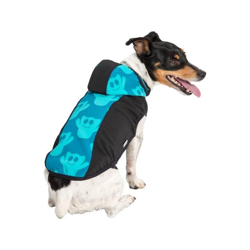 Obleček na psa do deště, větru a tmy.