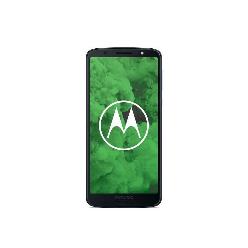 Mobilný telefón Motorola G6 Plus (PAAV0006RO) modrý Software F-Secure SAFE, 3 zařízení / 6 měsíců (zdarma)Sluchátka JBL T450BT Bluetooth - černá (zdarma)