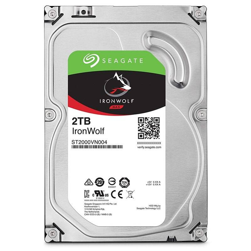 "Pevný disk 3,5"" Seagate IronWolf 2TB (ST2000VN004)"