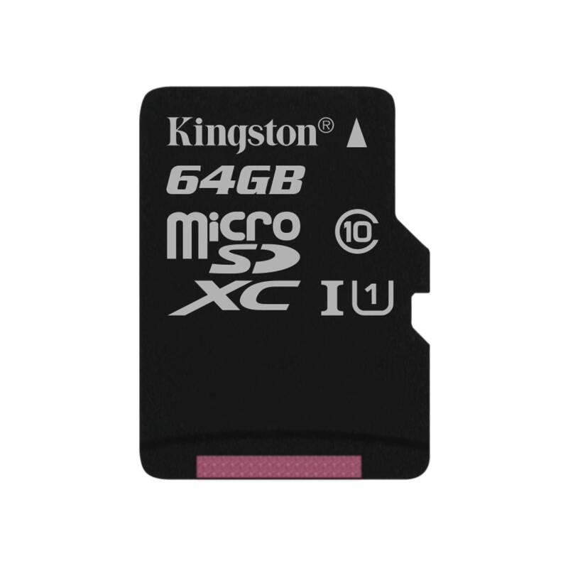 Pamäťová karta Kingston Canvas Select MicroSDXC 64GB UHS-I U1 (80R/10W) (SDCS/64GBSP)
