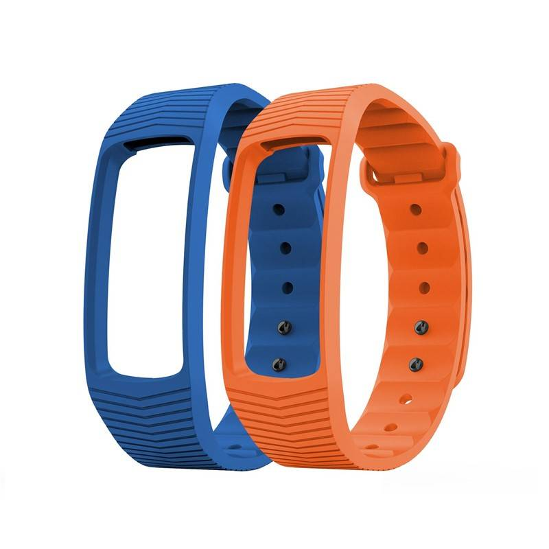 Řemínek Evolveo pro FitBand B3 - 1x modrá a 1x oranžová (FTD-B3-RS2)