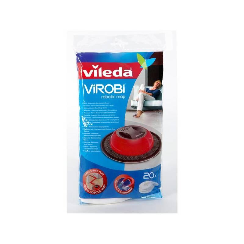 Návlek na mop Vileda ViRobi 20 ks (150490) Čistící prostředek Ajax na podlahy (zdarma)