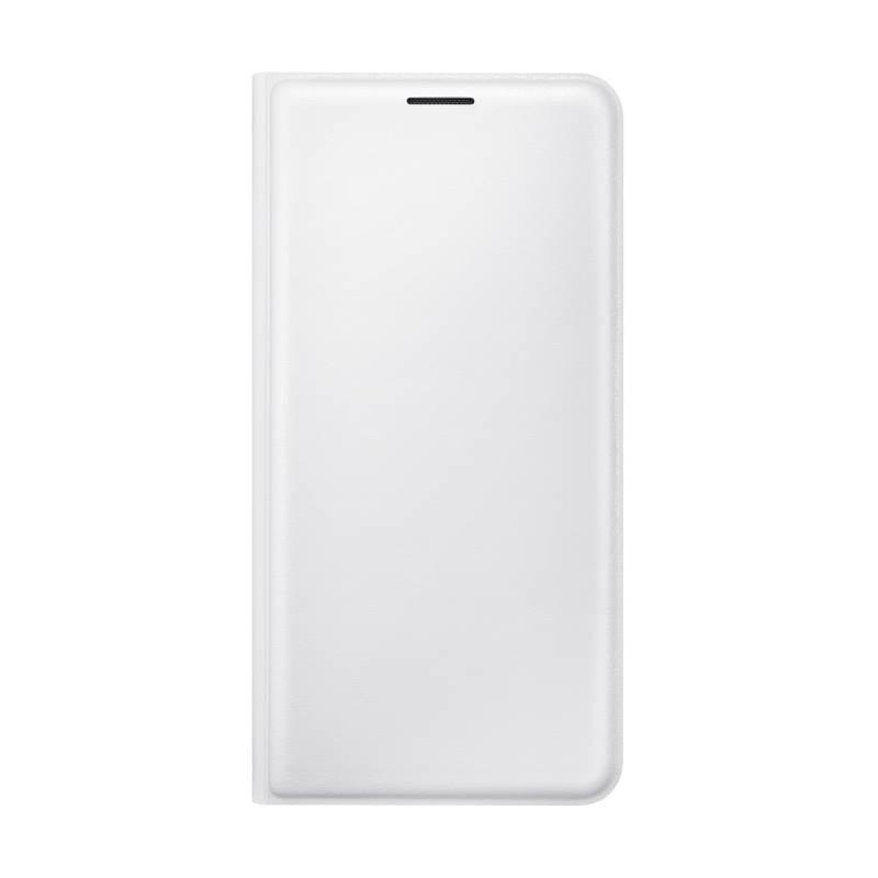 Puzdro na mobil flipové Samsung pro Galaxy J5 2016 (EF-WJ510P) (EF-WJ510PWEGWW) biele