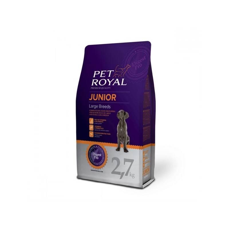 Granule Pet Royal Junior Dog Large Breeds 2,7 kg