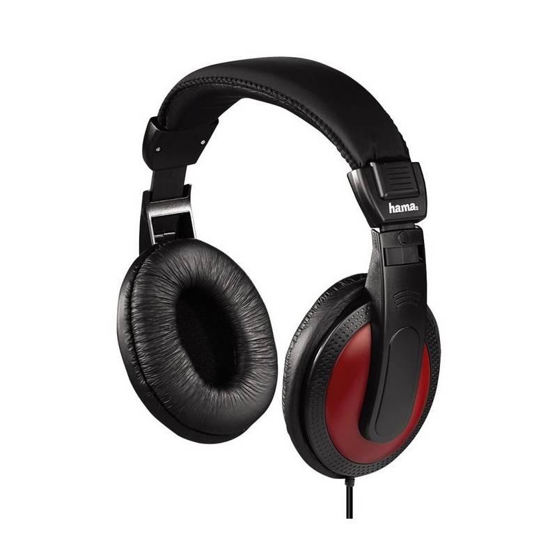 Slúchadlá Hama HK-5618 (135618) čierna/červená