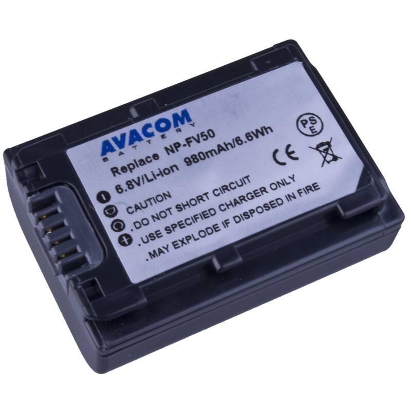 Batéria Avacom Sony NP-FV30, NP-FV50 Li-Ion 6.8V 980mAh 6Wh (VISO-FV50-142)