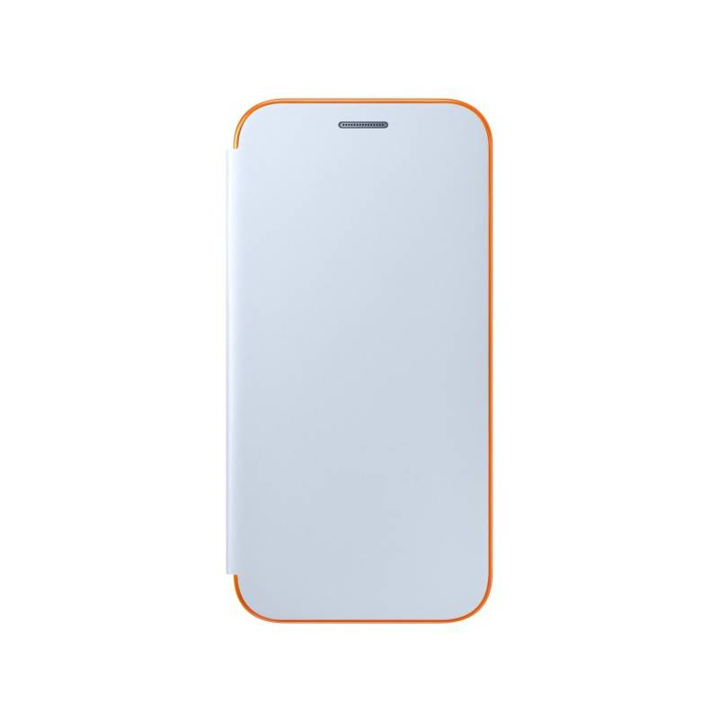 Pouzdro na mobil flipové Samsung Neon flip pro Galaxy A5 2017 (EF-FA520PLEGWW) modré